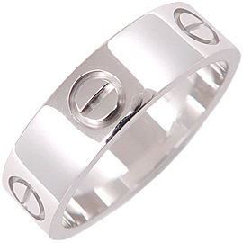 Cartier Love Ring 18K White Gold Size 7.5