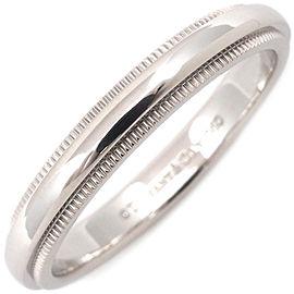 Tiffany & Co. Milgrain Platinum Ring