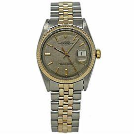 Vintage Rolex Datejust 1603 36.0mm Mens Watch