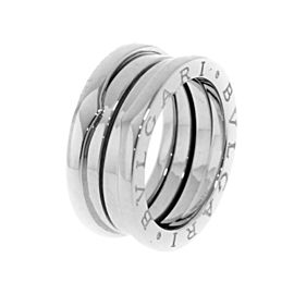 Bulgari B-Zero 18K White Gold Ring Size 5