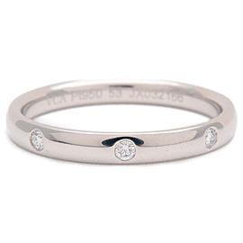 Van Cleef & Arpels Platinum 3P Diamond Ring