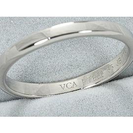 Van Cleef & Arpels Platinum Wedding Ring