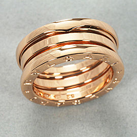 Bulgari B.Zero1 18K Rose Gold Ring Size 6.5