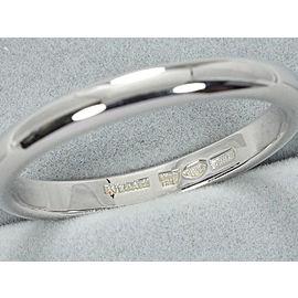 Bulgari Platinum Wedding Band Ring Size 8