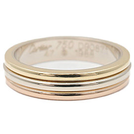 Cartier White Gold, Rose Gold, Yellow Gold Ring Size 4