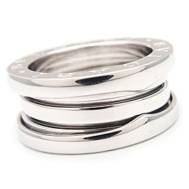 Bvlgari 18K White Gold Ring Size 5