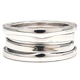 Bvlgari 18K White Gold Ring Size 7