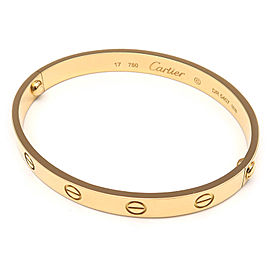 Cartier Love 18K Yellow Gold Bracelet