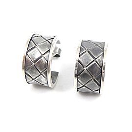 Bottega Veneta Sterling Silver Earrings