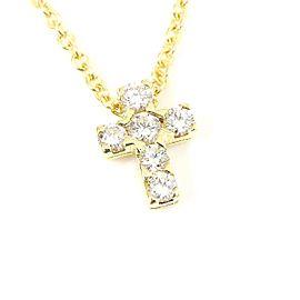 Van Cleef & Arpels 18K Yellow Gold Diamond Necklace