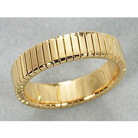 Bulgari 18YG Tubogas Ring Size 5.5