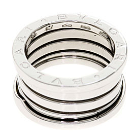 Bulgari 18K White Gold B-zero 1 Ring