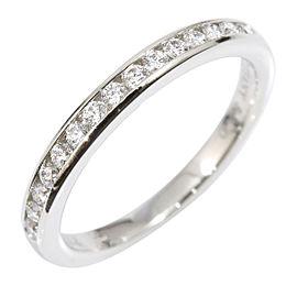 Tiffany & Co. Platinum Diamond Ring Size 4