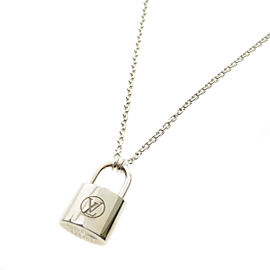 Louis Vuitton Sterling Silver Necklace