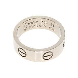 Cartier 18K WG Love Ring