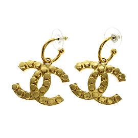 Chanel COCO Mark metallic Earrings