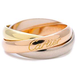 Cartier 18K Trinity Ring Size 5