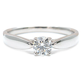 Tiffany & Co. Platinum Harmony Diamond Ring Size 5