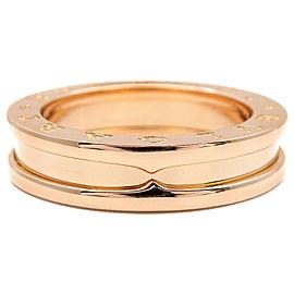 Bulgari 18K RG B-zero1 Ring Size 6