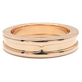 Bulgari 18K RG B-zero1 Ring Size 7.5