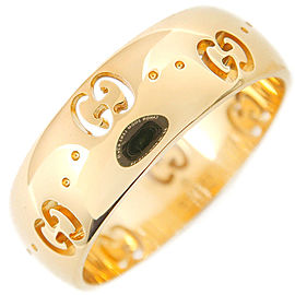 Gucci 18K Yellow Gold Ring Size 5.5