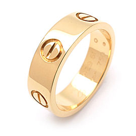 Cartier Love 18K Yellow Gold Ring Size 5.5