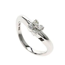 Vecchio 18K White Gold Diamond Ring
