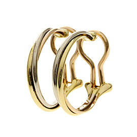 Cartier 18K Rose Gold, 18K Yellow Gold Earrings