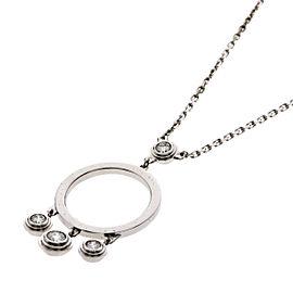 Cartier 18K WG Diamond Regeux Necklace