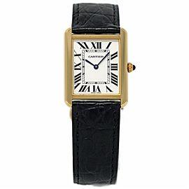 Cartier Tank Solo W5200004 34mm Womens Watch