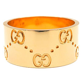 Gucci 18K YG Ring Size 6.5