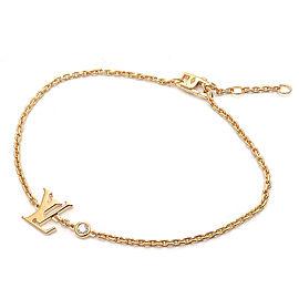 Louis Vuitton 18K YG Diamond Bracelet