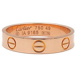 Cartier 18K RG Mini Ring Size 5