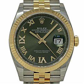 Rolex Datejust 36.0mm Mens Watch