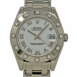 Rolex Datejust Masterpiece 81319 34.0mm Womens Watch