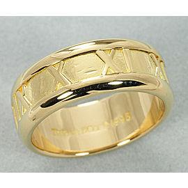 Tiffany & Co 18K YG Atlas Ring Size 5.5
