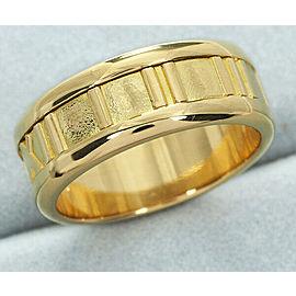 Tiffany & Co 18K YG Atlas Ring Size 5