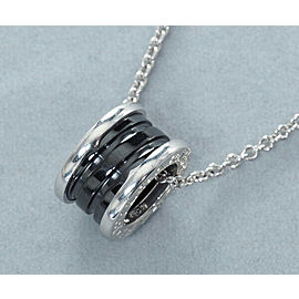 Bulgari Sterling Silver B.ZERO1 Necklace