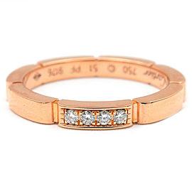 Cartier 18K RG maillon panthère Ring Size 5.5