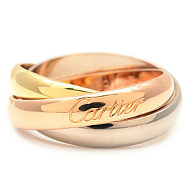 Cartier 18K Trinity Ring Size 5