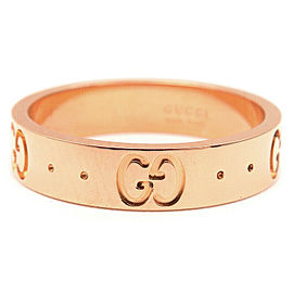 GUCCI 18K RG ICON Ring Size 5