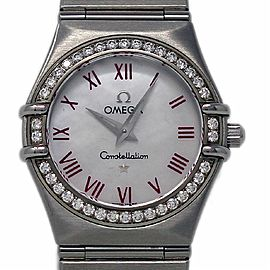 Omega Constellation 1476.63.00 27.5mm Stainless Steel Diamond MOP
