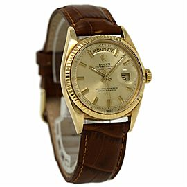 Rolex Day-Date 36mm President Yellow Gold 1803 Champagne Automatic