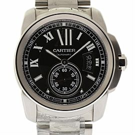 Cartier Calibre 42mm Steel W7100016 Automatic
