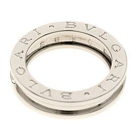 BVLGARI 18K WG B-zero 1 / XS Ring Size 4.5