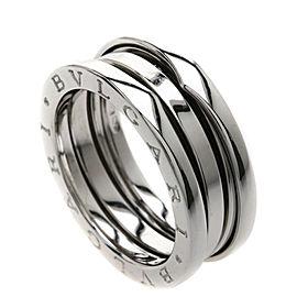 BVLGARI 18K WG B-zero1S Ring Size 7.5