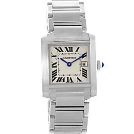 Cartier Tank Francaise W51011Q3 25.0mm Womens Watch
