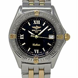Breitling Callisto B64046 34mm Stainless Steel Yellow Gold Black