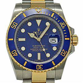Rolex Submariner 116613 Steel Gold Ceramic Blue 2008