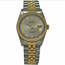 Rolex Datejust 16233 36mm Stainless Steel Yellow Gold 2002